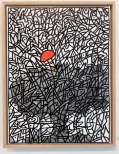 Rolf Imbach in der Galerie Artesol